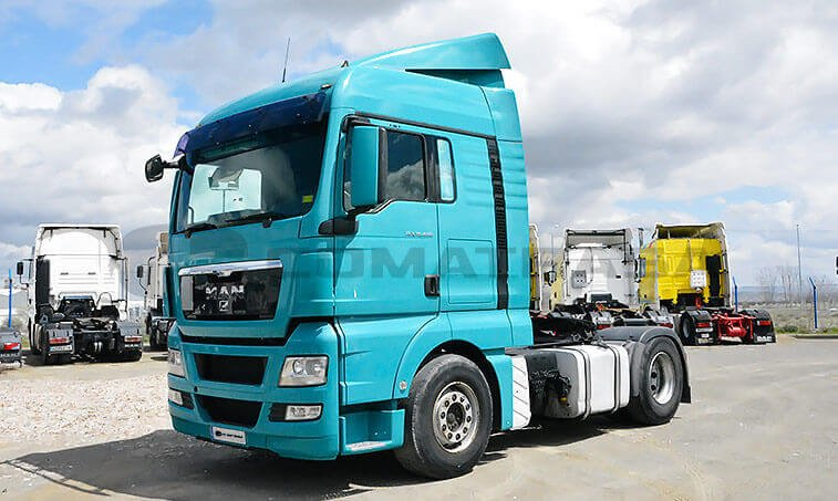 MAN TGX 18480 2007 4x2 BLS Cabeza Tractora 2007 10 29 1