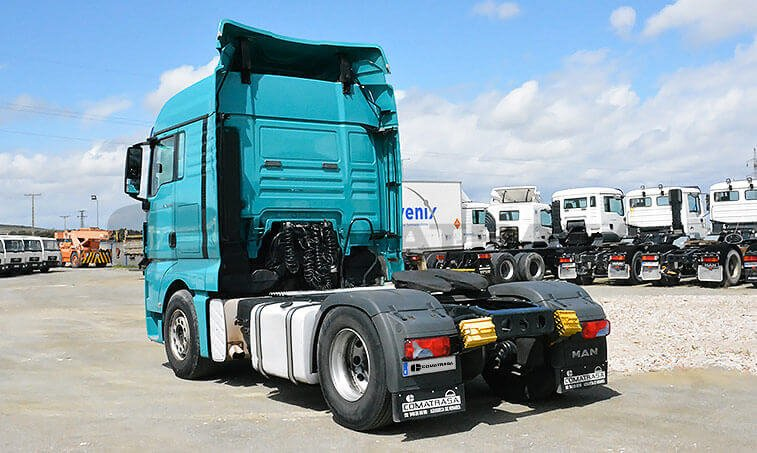 MAN TGX 18480 2007 4x2 BLS Cabeza Tractora 2007 10 29 4