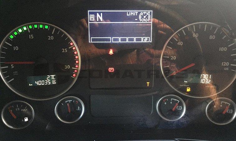 MAN TGX 18480 Octubre 2012 4x2 BLS cuadro mandos