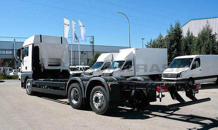 MAN TGX 26.480 6X2 2 BL Chasis Camión 4