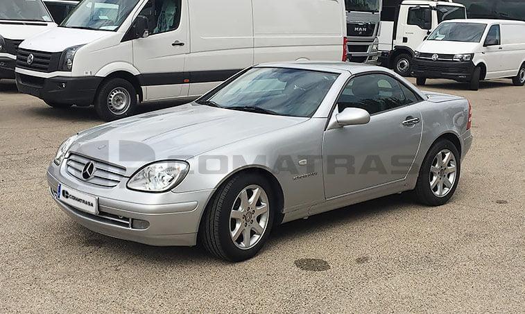 Mercedes SLK 230 Kompressor vista lateral izquierdo