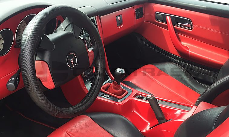 Mercedes SLK 230 Kompressor interior