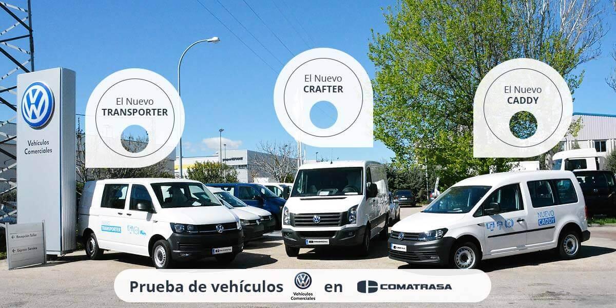 Prueba de vehículo Volkswagen