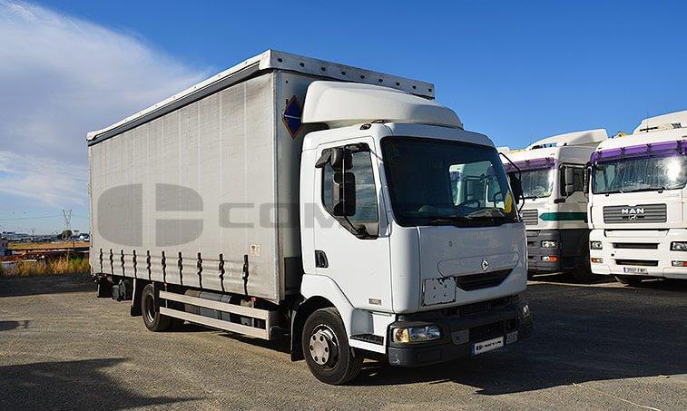 Renault 180 10 B camión parte derecha