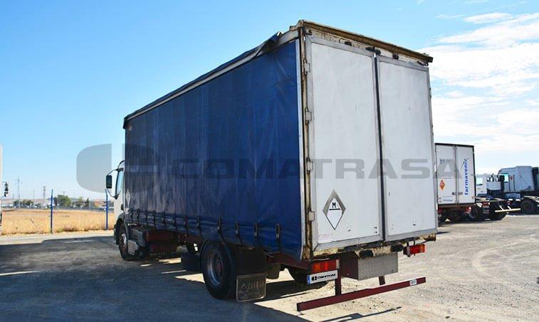 Renault 25018 4x2 puertas caja