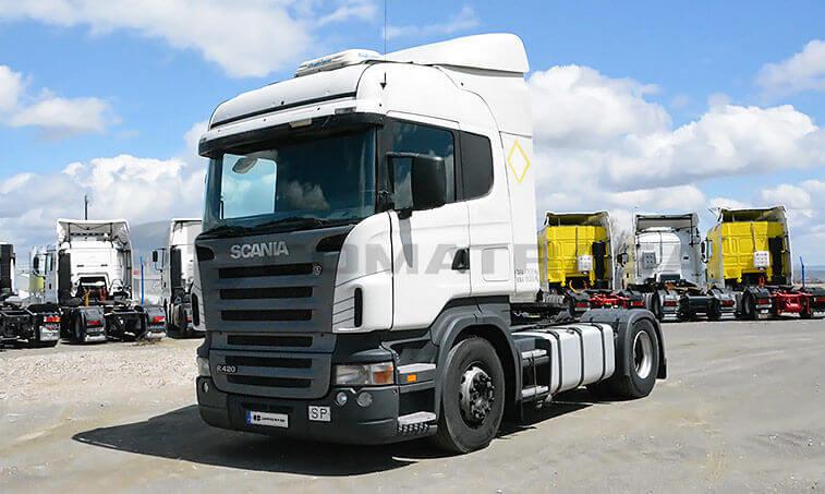Scania 12L4x2 37 Cabeza Tractora 2005 12 20 1