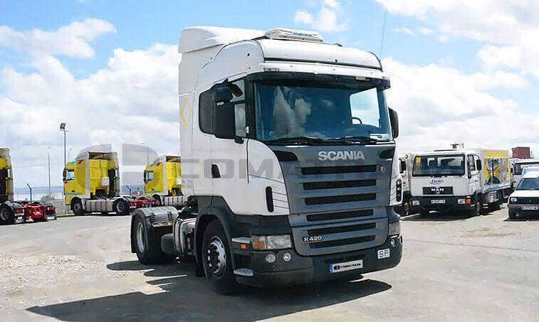 Scania 12L4x2 37 Cabeza Tractora 2005 12 20 2
