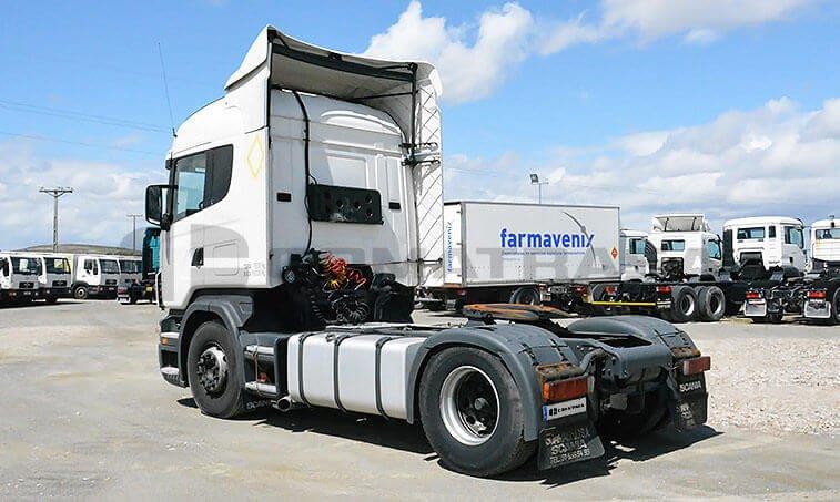 Scania 12L4x2 37 Cabeza Tractora 2005 12 20 4