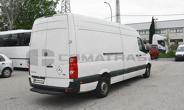 Volkswagen Crafter 2.5 TDI 163 CV Furgón 2008 01 17 3