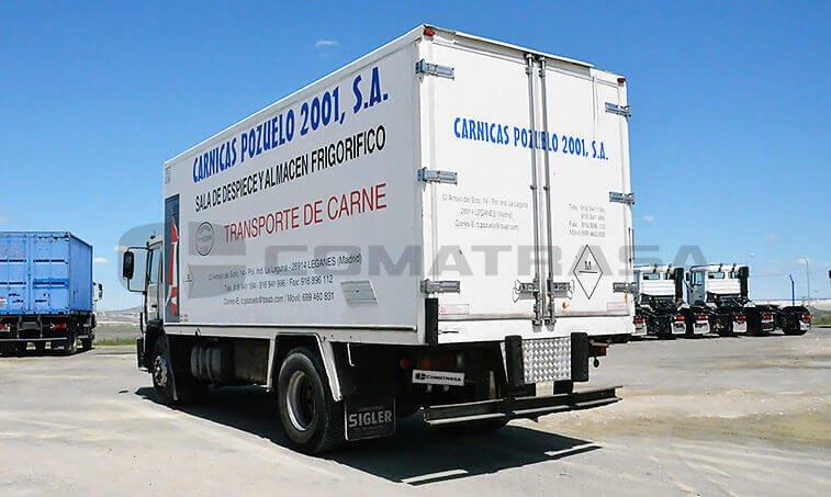 Volvo FL618 ES Camión Frigorífico 1995 05 01 3