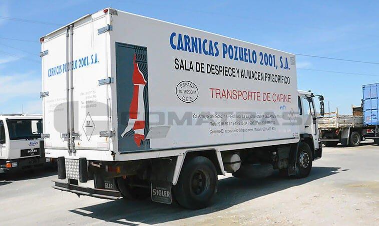 Volvo FL618 ES Camión Frigorífico 1995 05 01 4