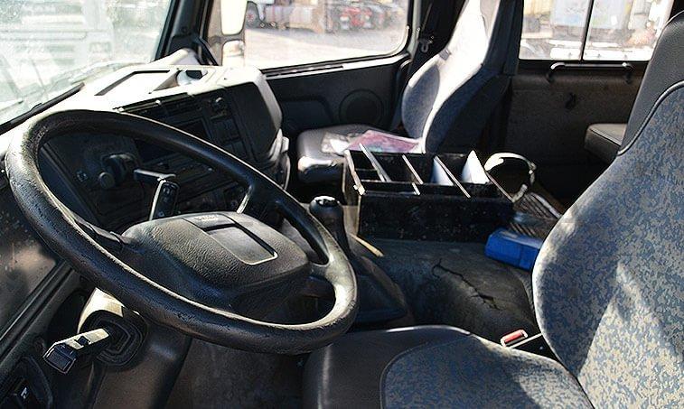 Volvo FM7 42 290 interior cabina
