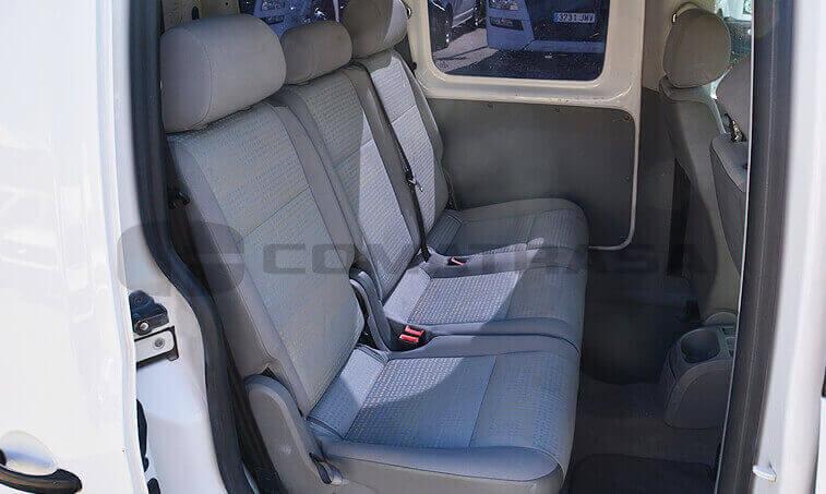 VW Caddy 2006 asientos traseros