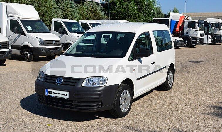 VW Caddy 2010 frontal