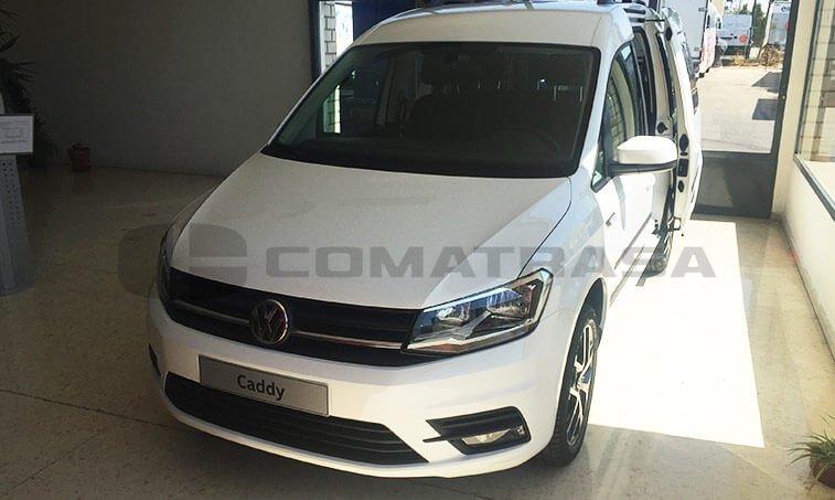 VW Caddy Outdoor parte delantera