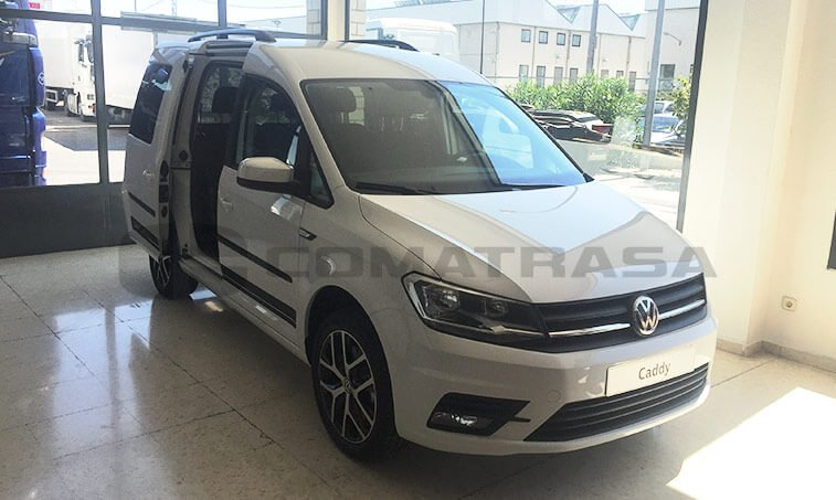 VW Caddy Outdoor puerta lateral