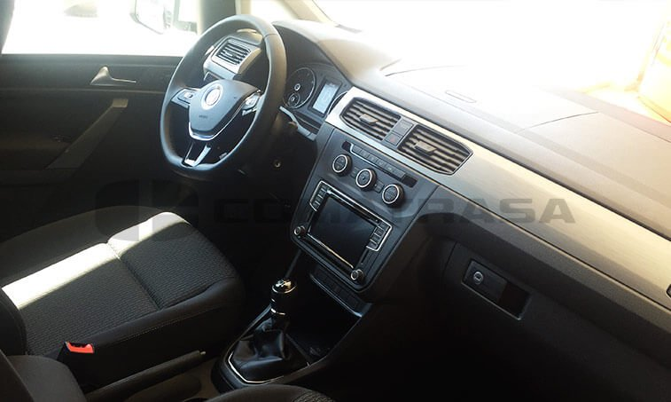 VW Caddy Outdoor interior radio