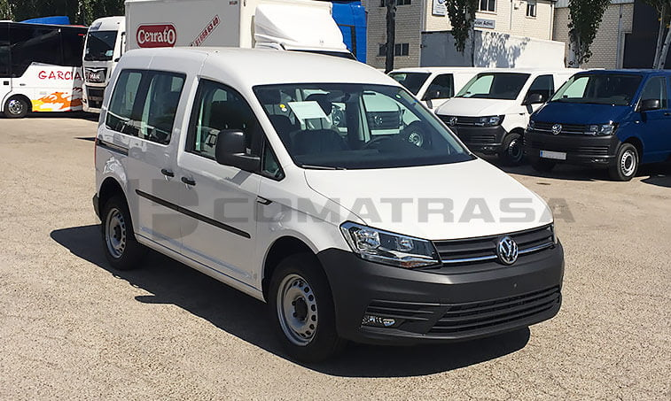 VW Caddy Profesional vista delantera