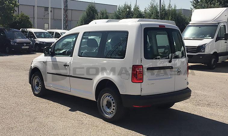 VW Caddy Profesional parte trasera