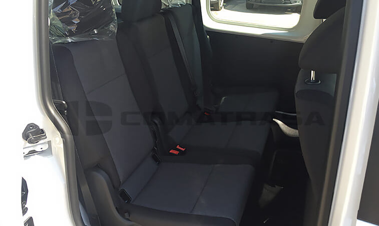 VW Caddy Profesional asientos