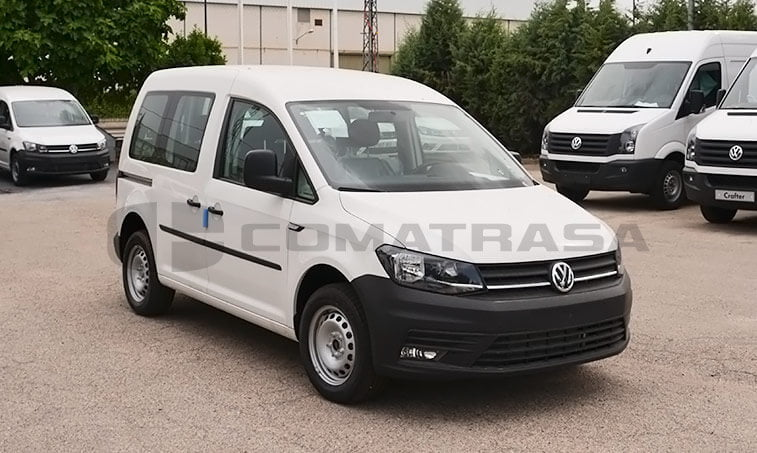 VW Caddy Profesional Kombi 2.0 TDI 75 CV Mixto 2