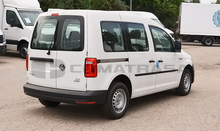 VW Caddy Profesional Kombi 2.0 TDI 75 CV Mixto 3