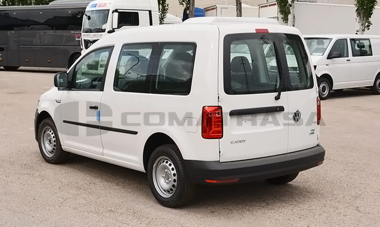 VW Caddy Profesional Kombi 2.0 TDI 75 CV Mixto 4