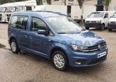 VW Caddy Trendline Azul lateral derecho