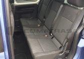 VW Caddy Trendline Azul asientos traseros