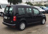 VW Caddy Trendline Negro parte trasera derecha