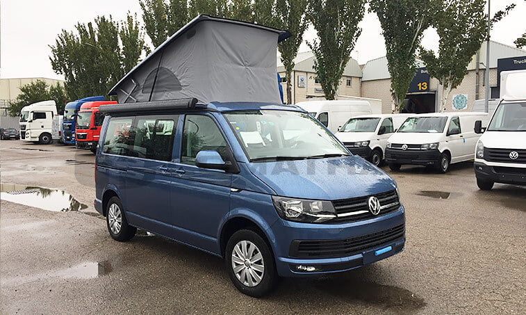 VW California Beach azul 2