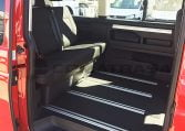 VW California Beach interior asientos