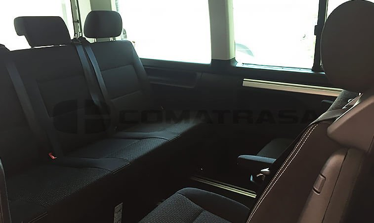 VW Multivan Outdoor asientos