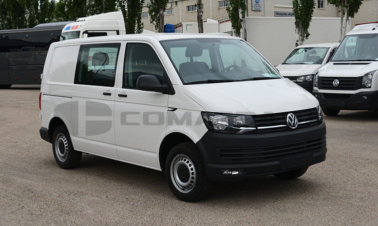 VW Transporter 2.0 TDI 102 CV Mixto 2