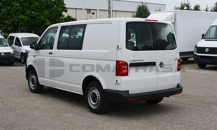 VW Transporter 2.0 TDI 102 CV Mixto 4