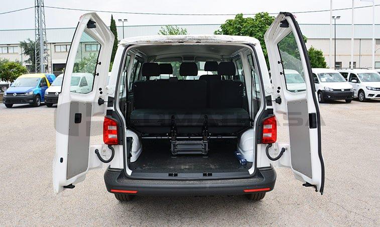 VW Transporter Kombi 2.0 TDI 102 CV Mixto 5